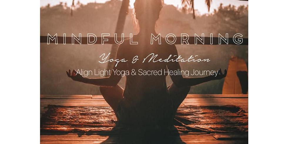 Mindful Morning | Yoga + Guided Meditation