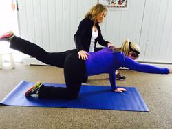 Postnatal Balance Exercise Home