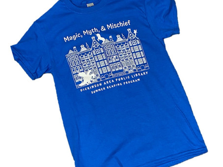 Summer Reading Program Shirts for Sale! By Jade Praus