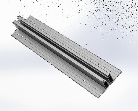 EasyMount ALU Rail 80 x 370 Universal