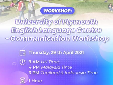 普利茅斯大學英語中心-溝通研討會