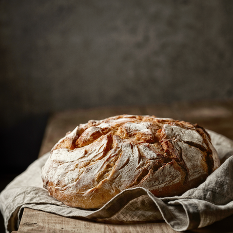 Happiness is... the smell of fresh bread