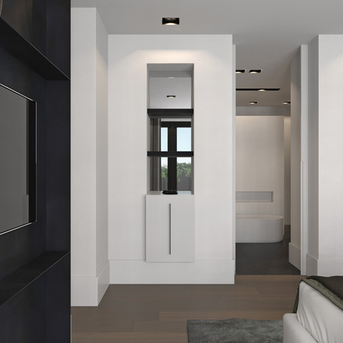 slaapkamer/badkamer