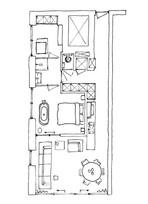 Schets plattegrond