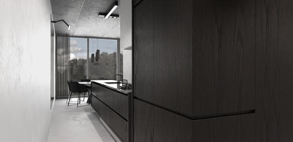 Keuken appartement interieur