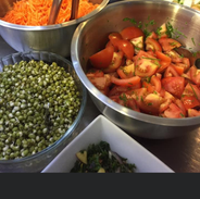 A selection of Gourmet Salads