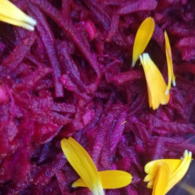 Beetroot & Ginger Salad