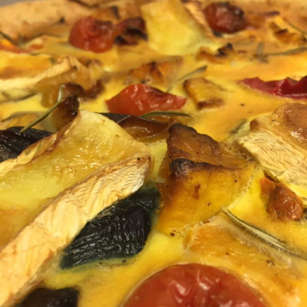 Homemade Veggie Quiche