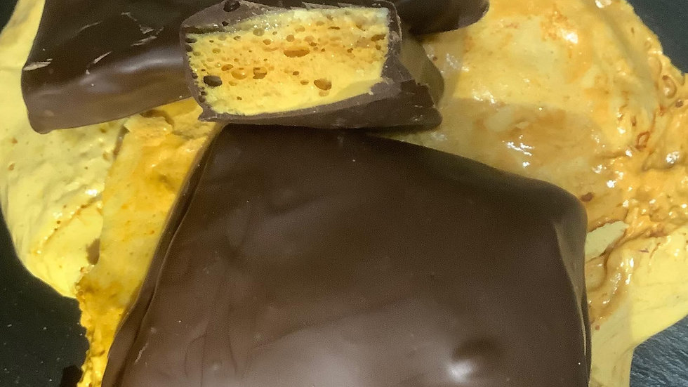 Sponge Toffee in Dark Chocolate