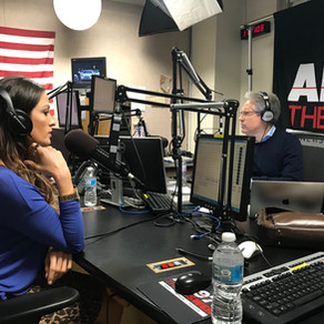 Sharing LIFE On The Eric Metaxas Show In NYC