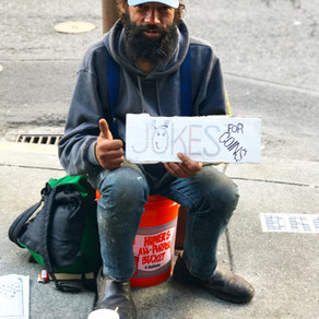 Two Things I Learned From The Homeless Comedian