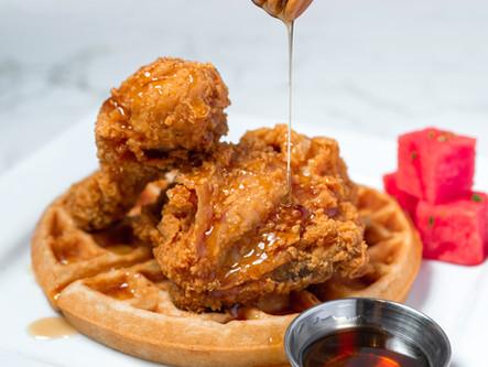 Crispy Fried Chicken & Belgian Waffles