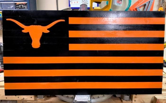 UT Longhorns Flag
