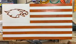 Eagle Pass High School Flag