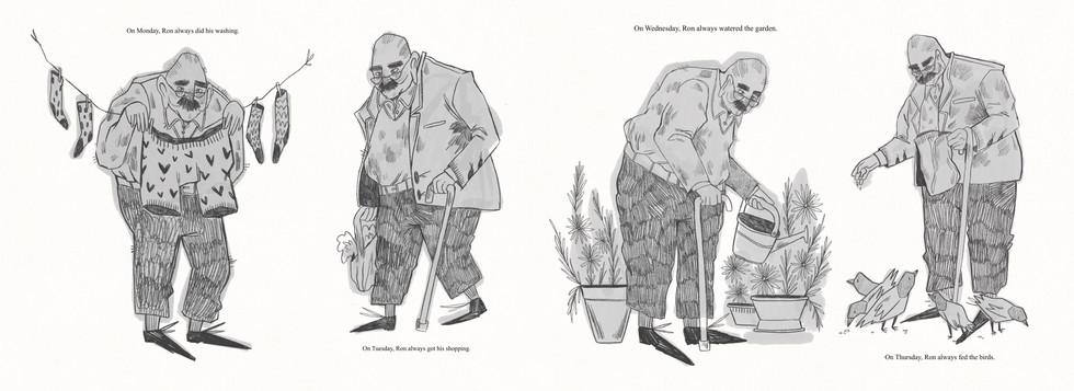 Children's Book: Ron