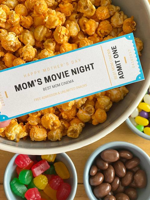 Mom's Movie Night Ticket