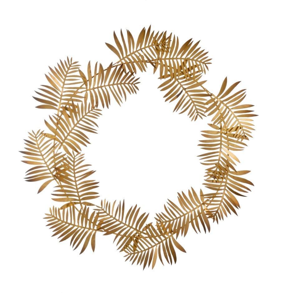 Iron-frond-wreath