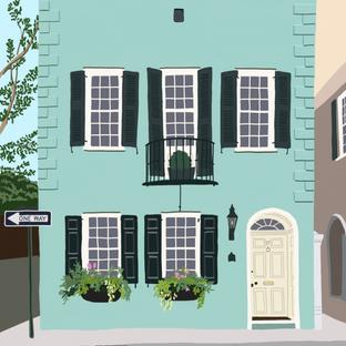 Charleston Art Print | Mint House Studio