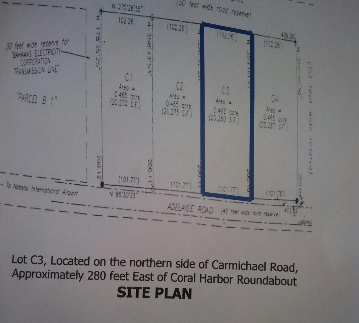 Carmichael Rd. West
