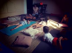 le cobra yoga enfant