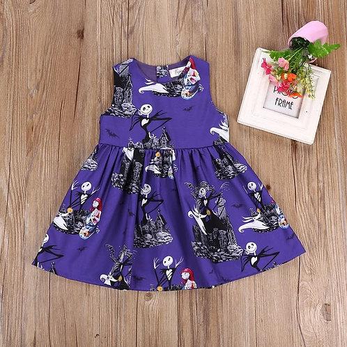 Nightmare Dress Purple