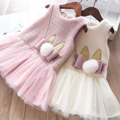 Winter Bunny Dress