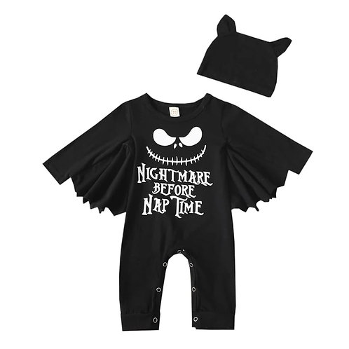 Nightmare Before Nap Time Romper