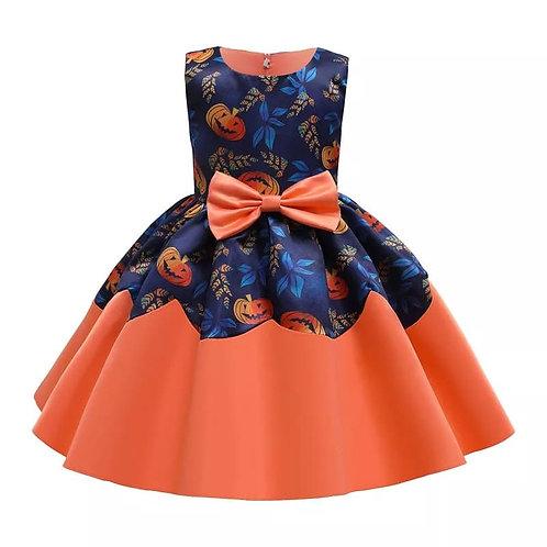 Pumpkin Princess Dress