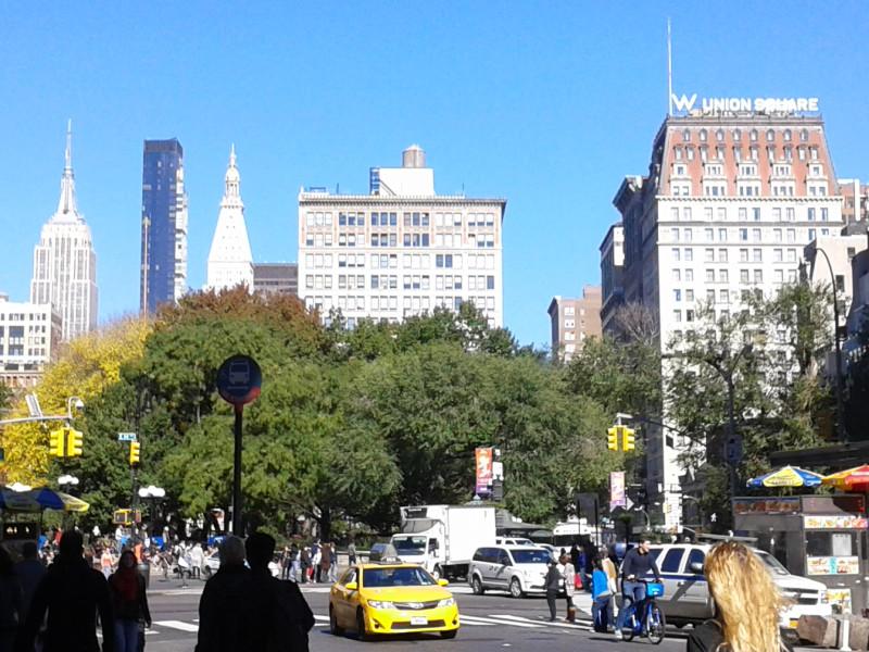 秋の空 @ Union Square