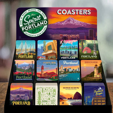Complimentary 144-Piece Coaster Display Package