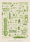 Portland Pattern Print