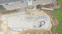 Sky View of during install