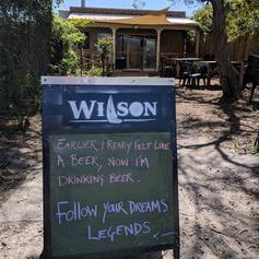WILSON BREWING CO