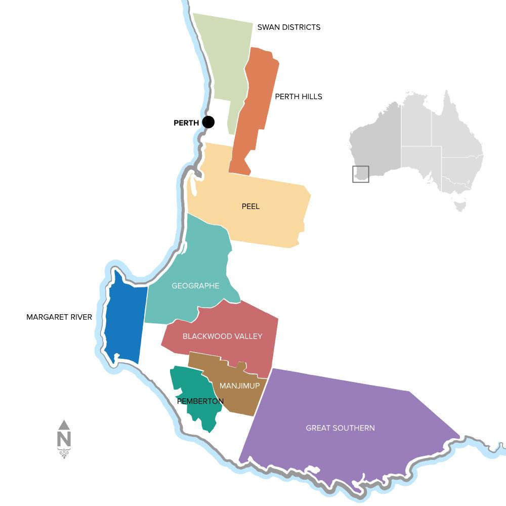 WA wine regions