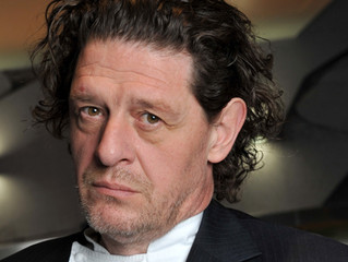 UK CELEBRITY CHEF, MARCO PIERRE WHITE, HEADING WEST