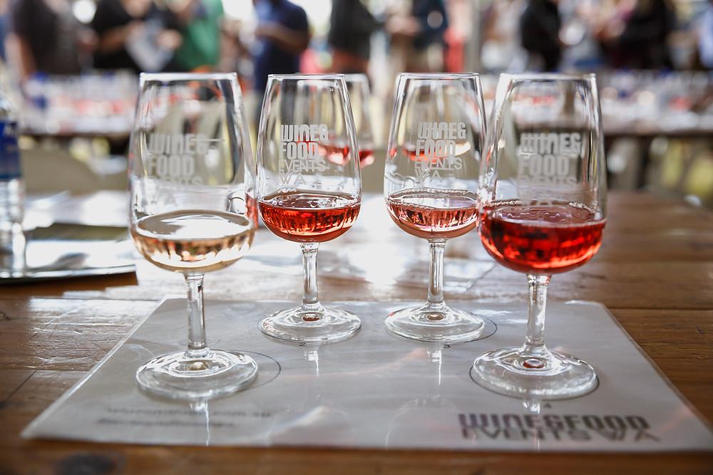 Wine Seminar Glasses
