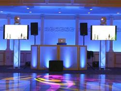 DJ Setup With LED Screens