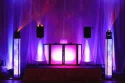 Illuminated DJ Booth