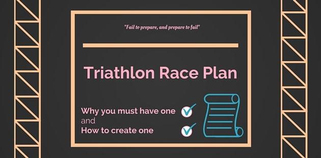 Race Plan - Ironman 70.3