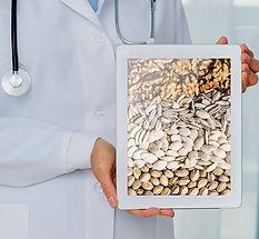 טיפול בתזונה עדנה-אצות וגרעינים