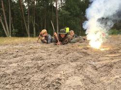 Młody komandos – Obóz Militarny