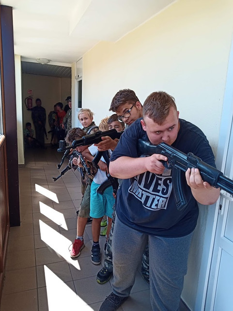 Obóz Counter Strike