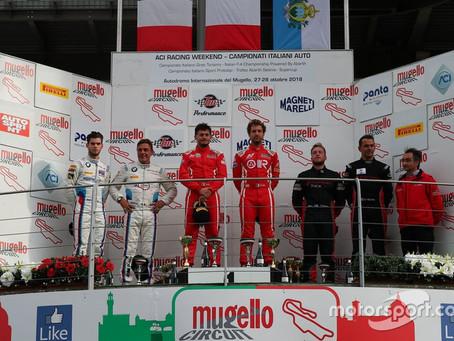 CIGT: Al Mugello non basta la vittoria in gara 1