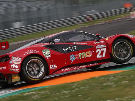Prima gara sfortunata nel GT Endurance Italiano