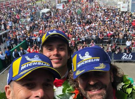 Grande podio per la #54 di Spirit of Race a Le Mans!