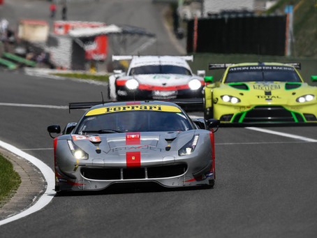 FIAWEC: SPA 6Hours, P8 in first round