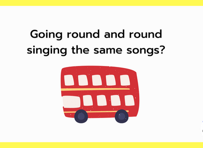 Going round and round singing the same songs?