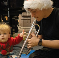 Teeny Maestros Christmas Concert Session