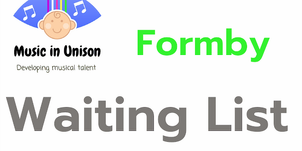Waiting list for Classes Formby - June