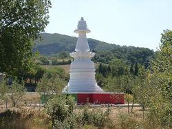 Stupa at Castellina Marittima